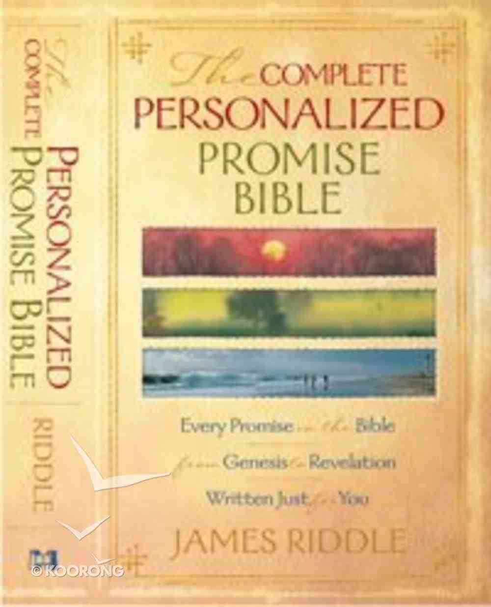 The Complete Personalized Promise Bible Hardback