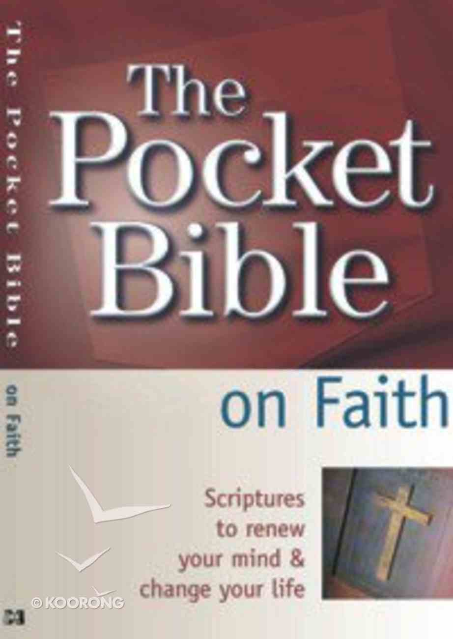The Pocket Bible on Faith Paperback