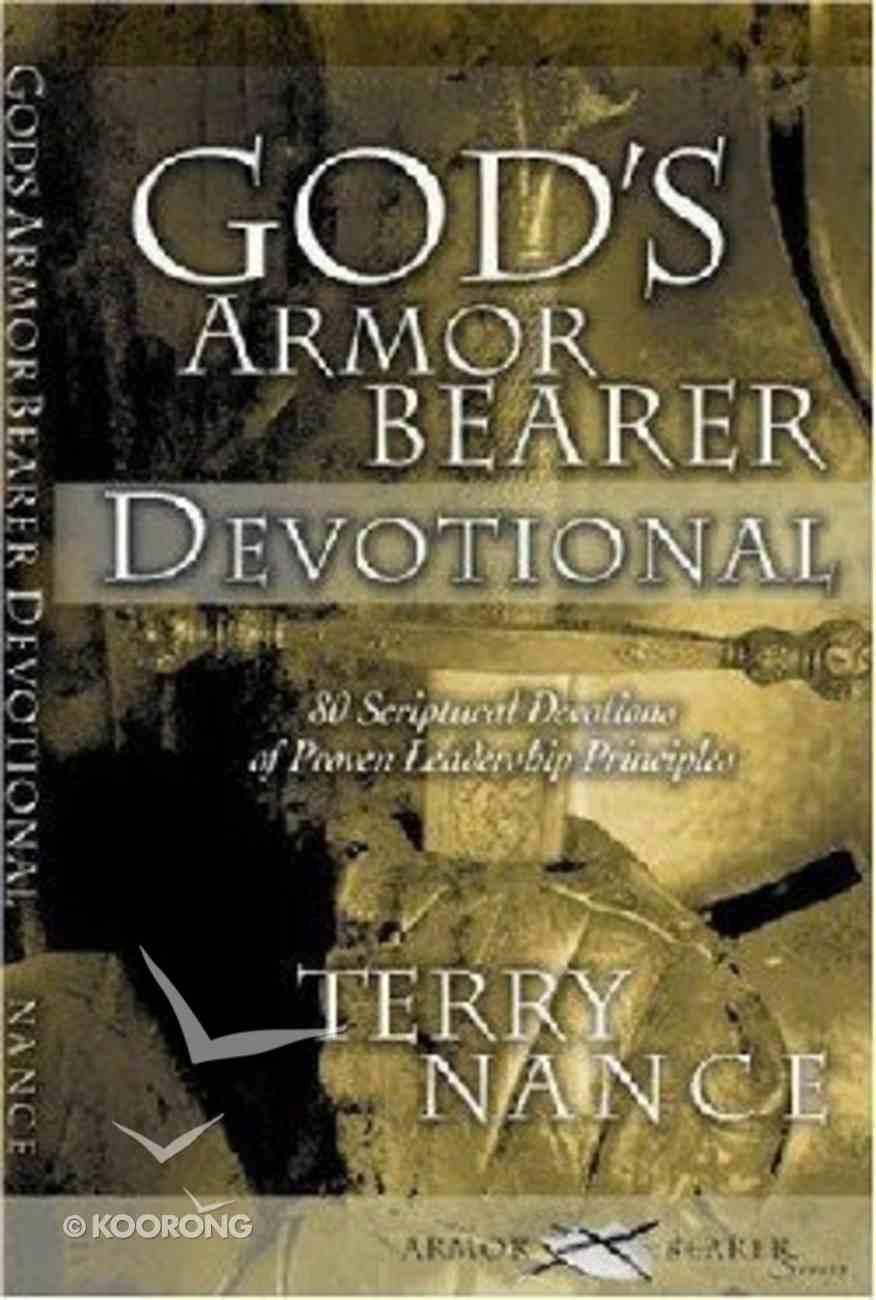 God's Armor Bearer Devotional Paperback