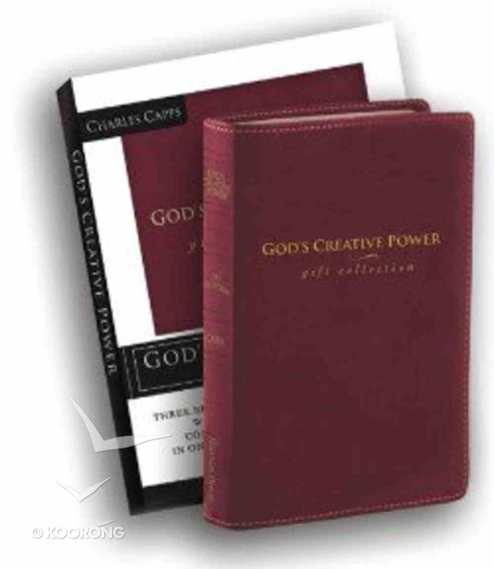 God's Creative Power (Gift Collection) Genuine Leather