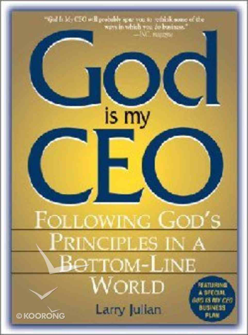 God is My Ceo Paperback
