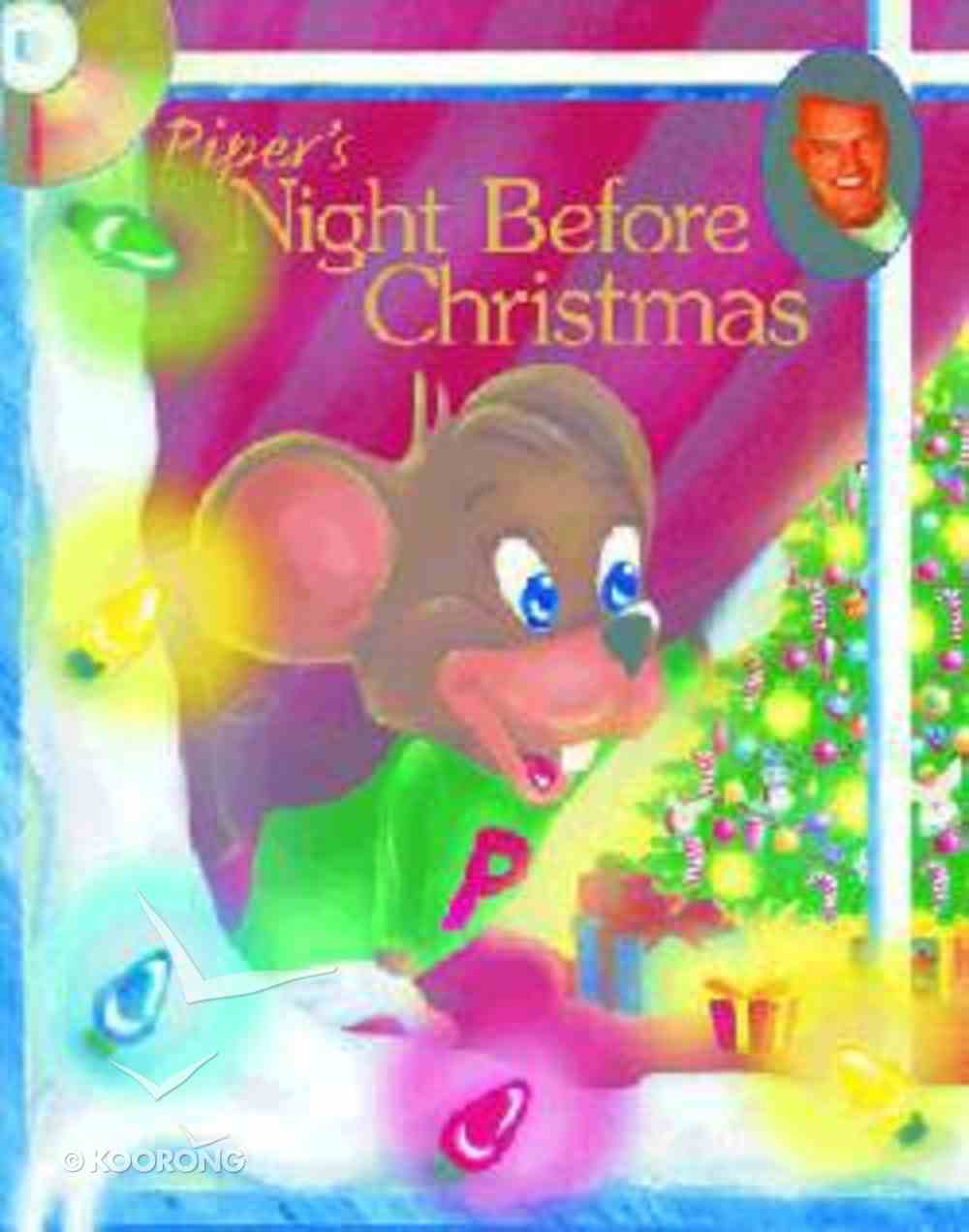 Piper's Night Before Christmas (Piper The Hyper Mouse Series) Hardback