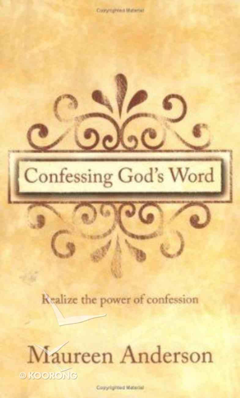Confessing God's Word Hardback