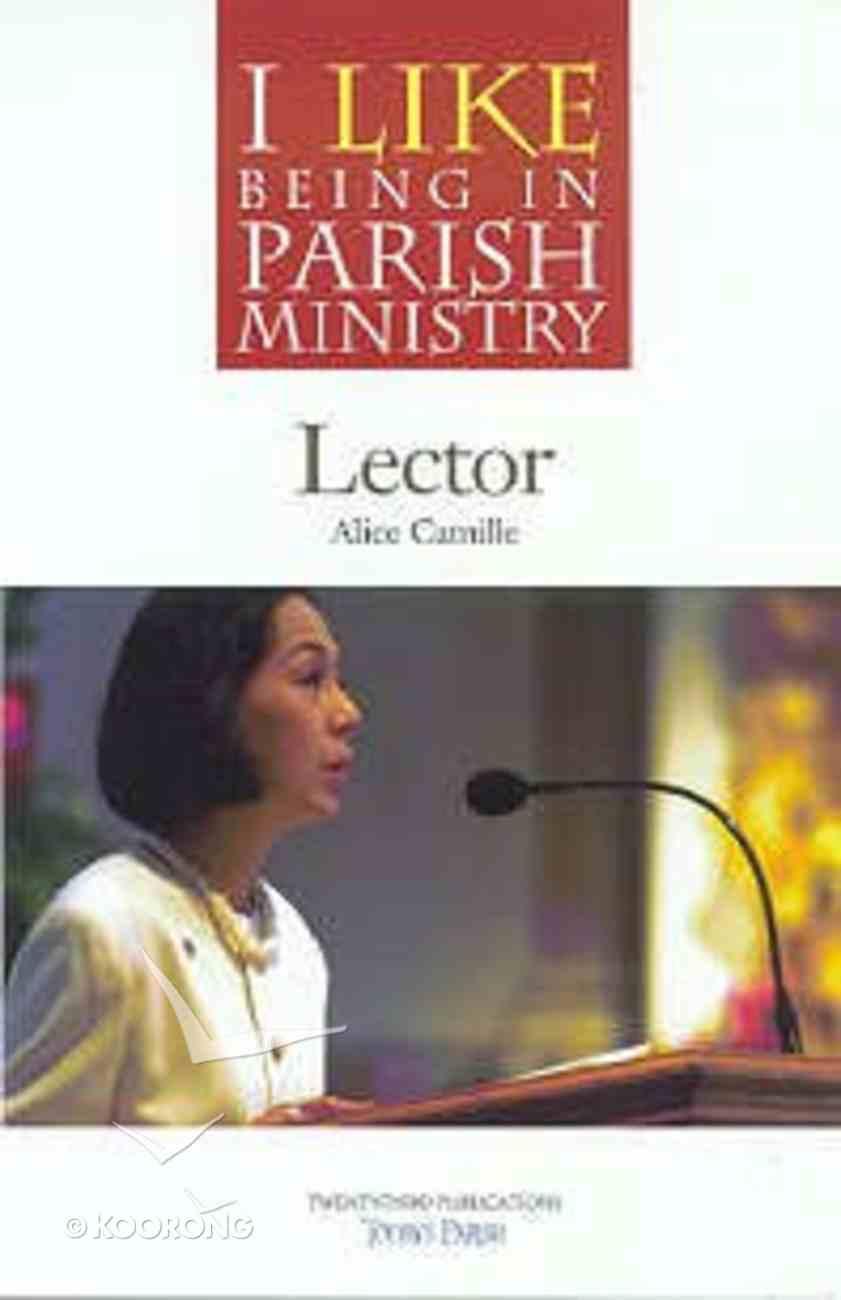 Parish Ministry: Lector Paperback