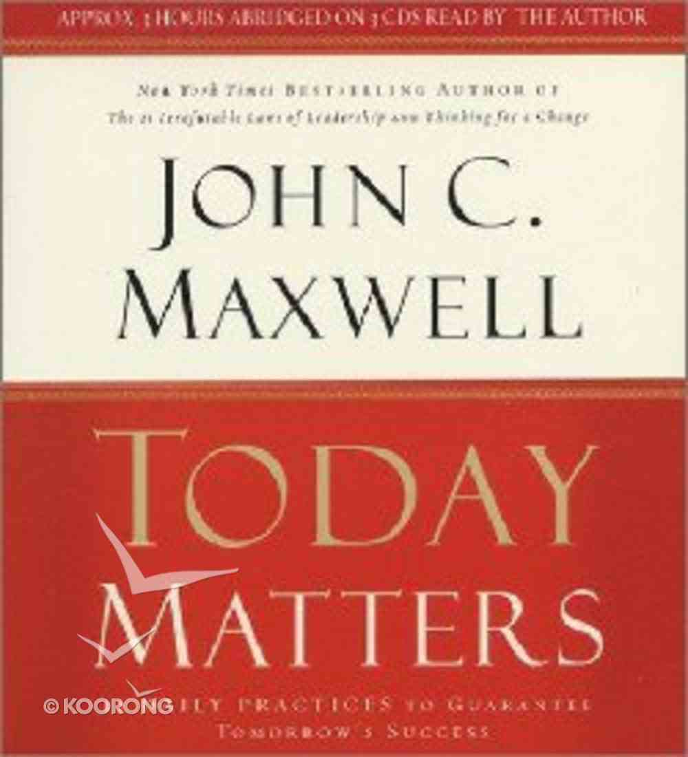 Today Matters CD