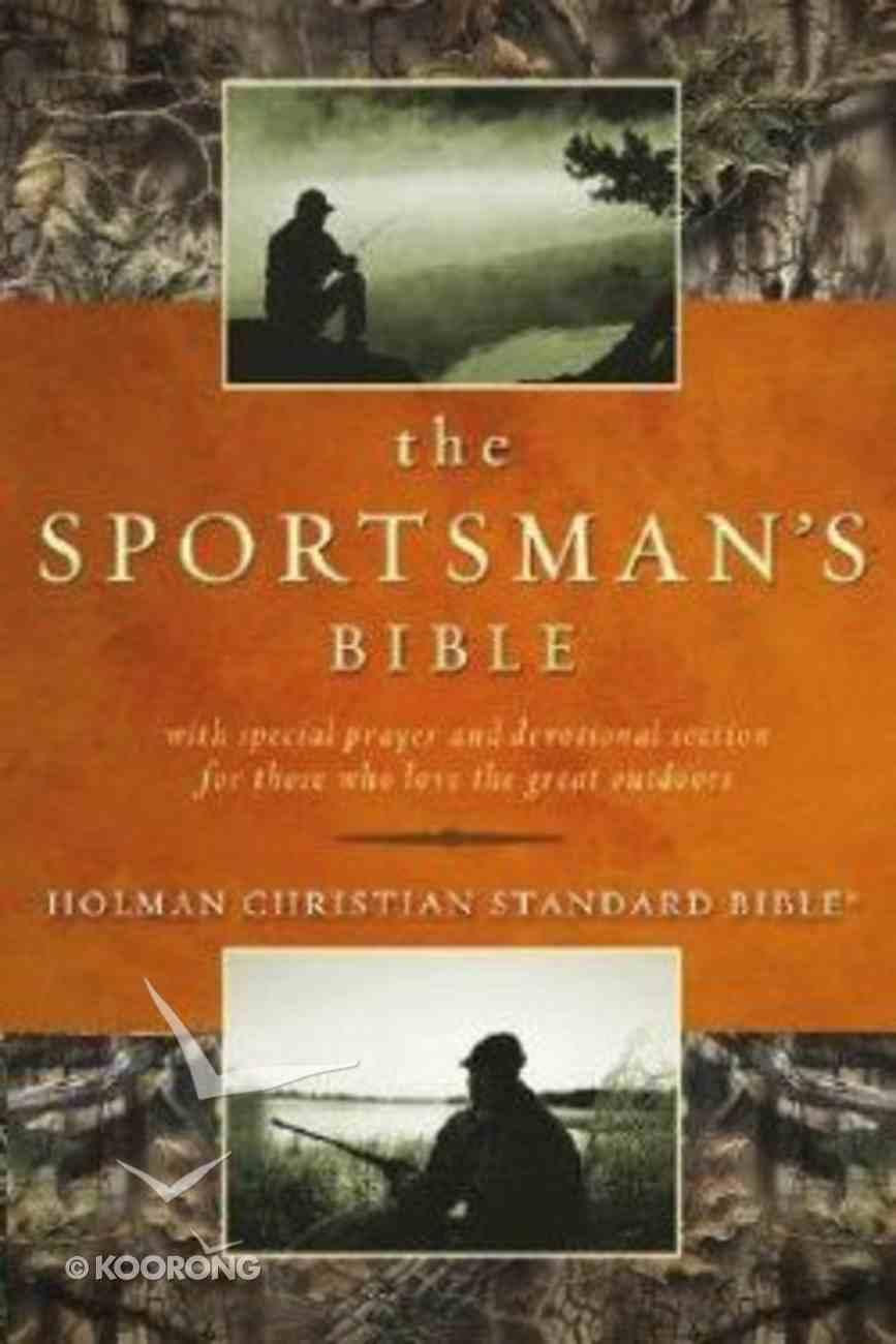 HCSB Sportsman's Bible Green With Slide Tab Hardback