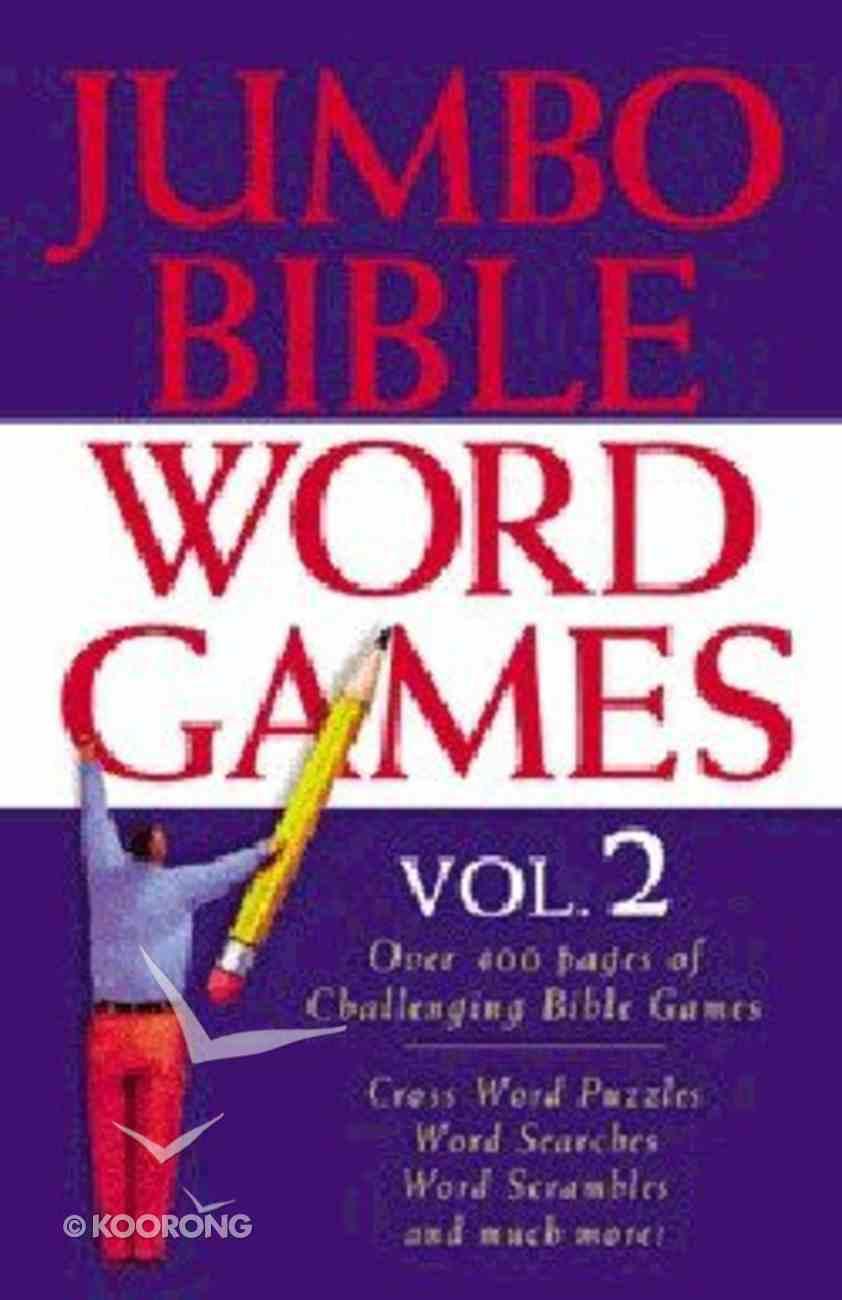 Jumbo Bible Word Games (Vol 2) Paperback
