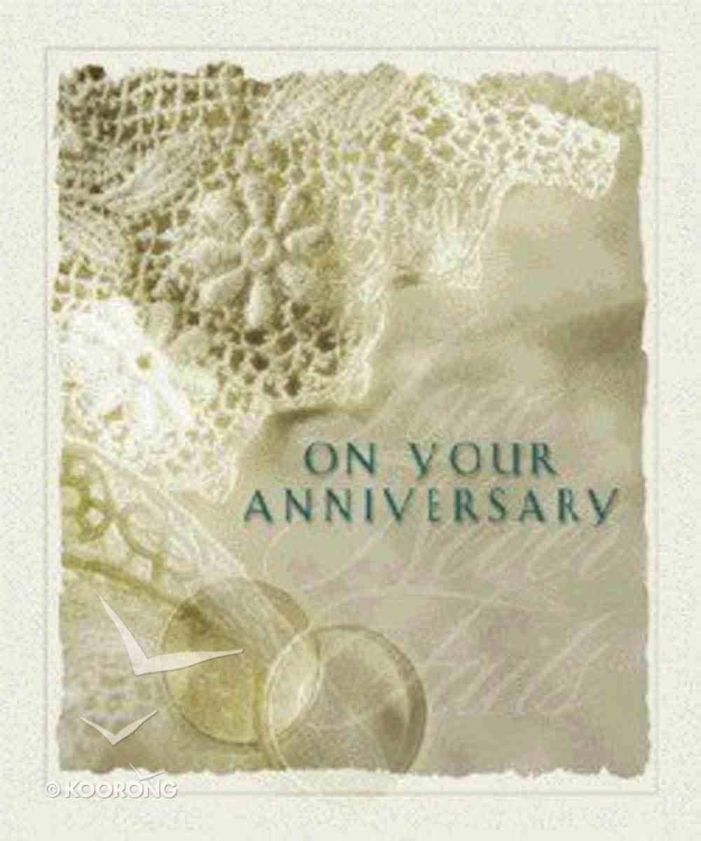On Your Anniversary Hardback