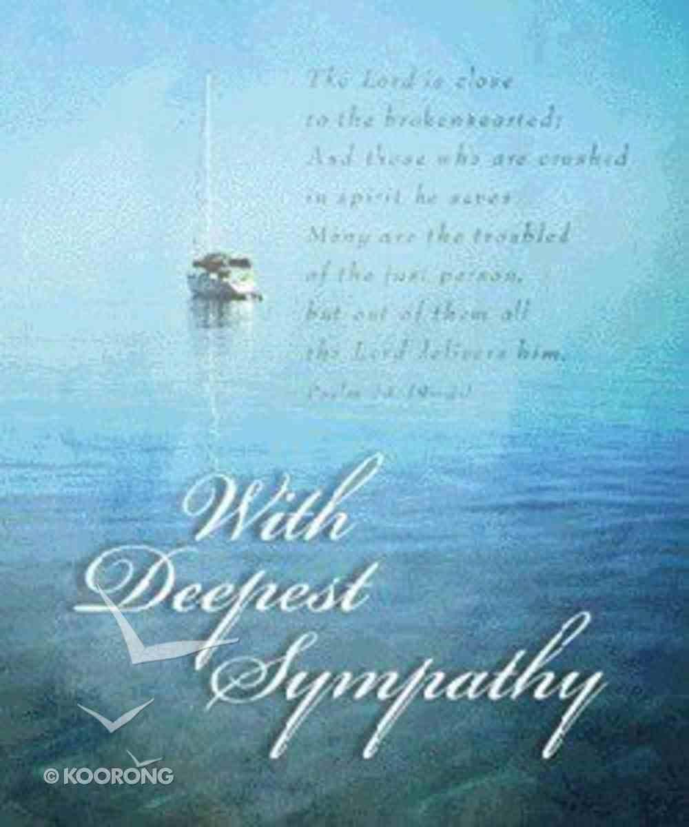 With Deepest Sympathy Hardback