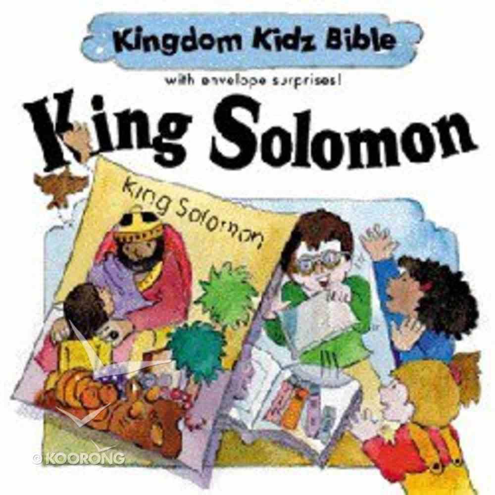 King Solomon (Kingdom Kidz Bible Series) Hardback