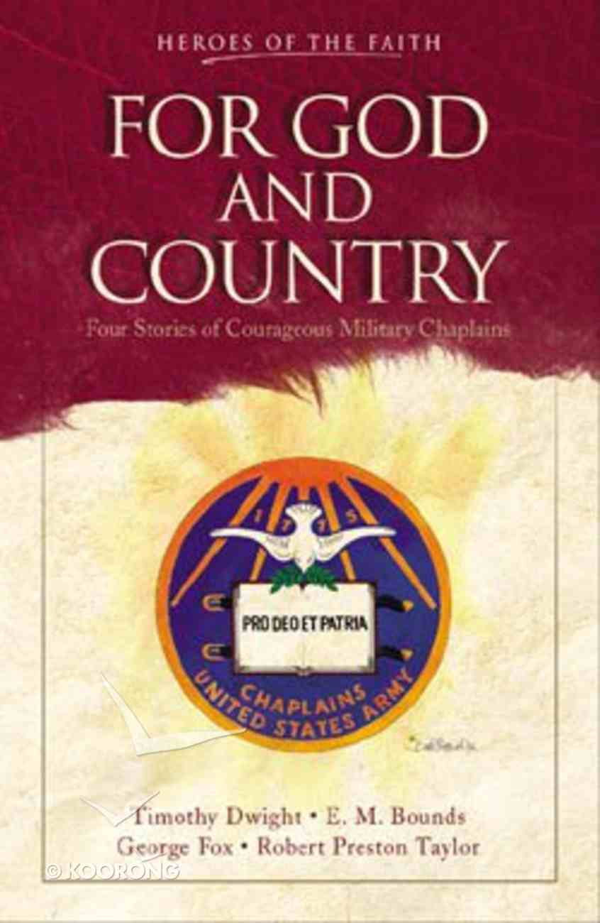 For God and Country Paperback