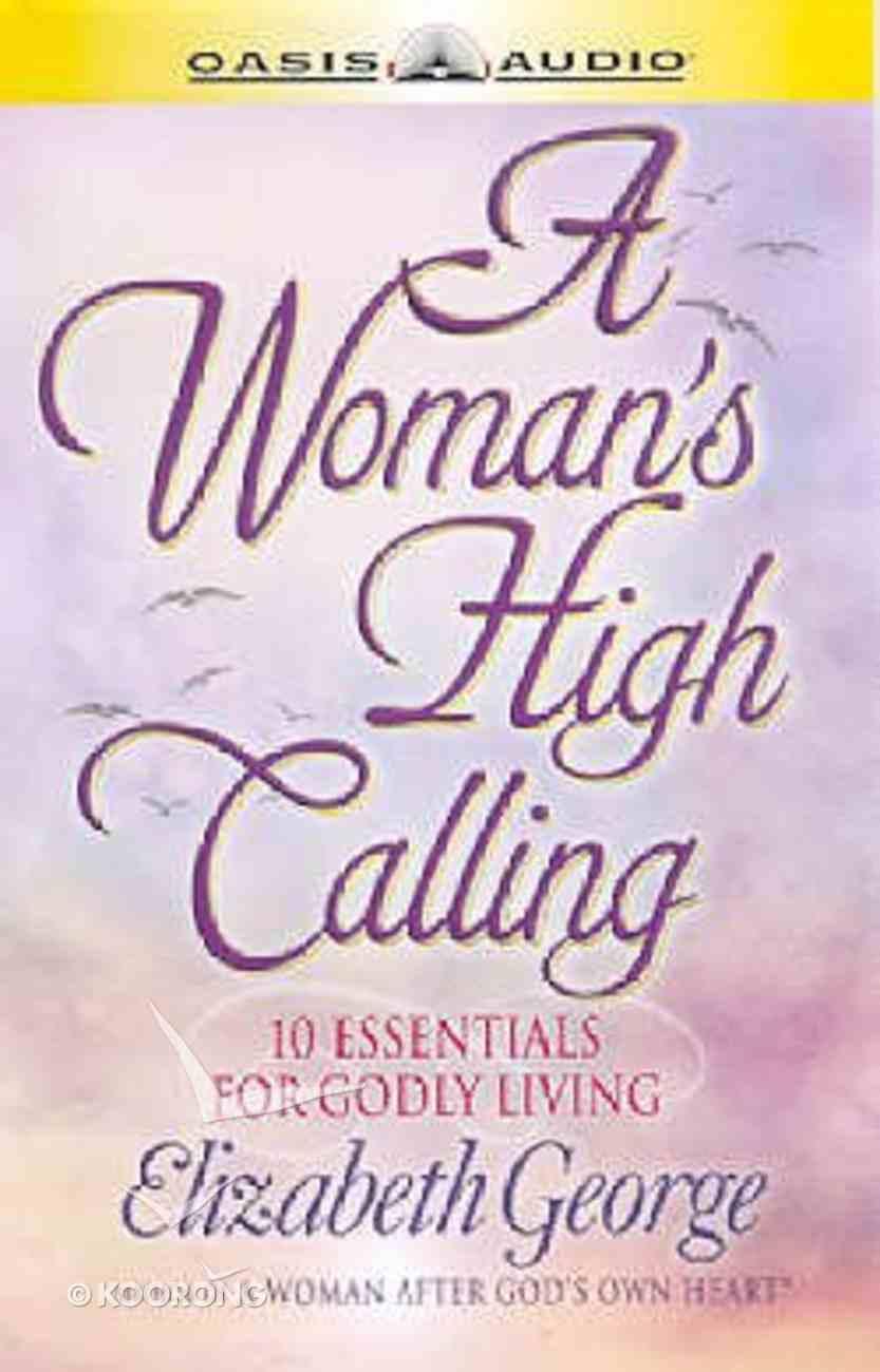 A Women's High Calling CD