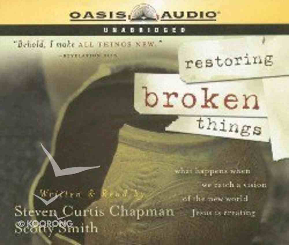 Restoring Broken Things CD