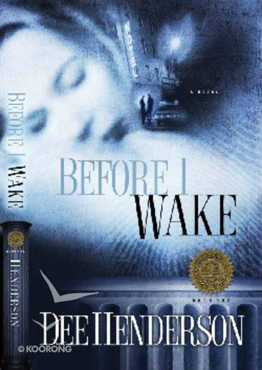 Justice Files #01: Before I Wake CD