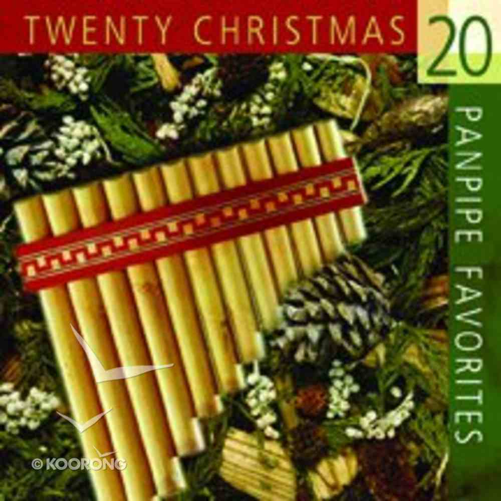 20 Christmas Panpipe Favorites CD
