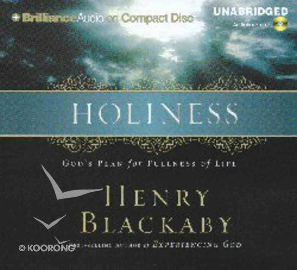 Holiness CD