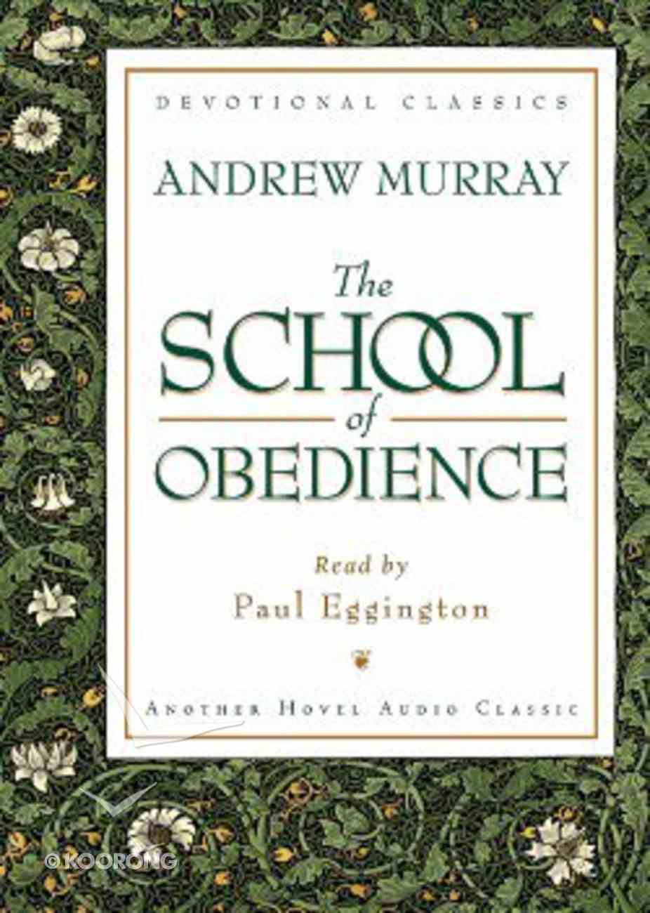 The School of Obedience CD