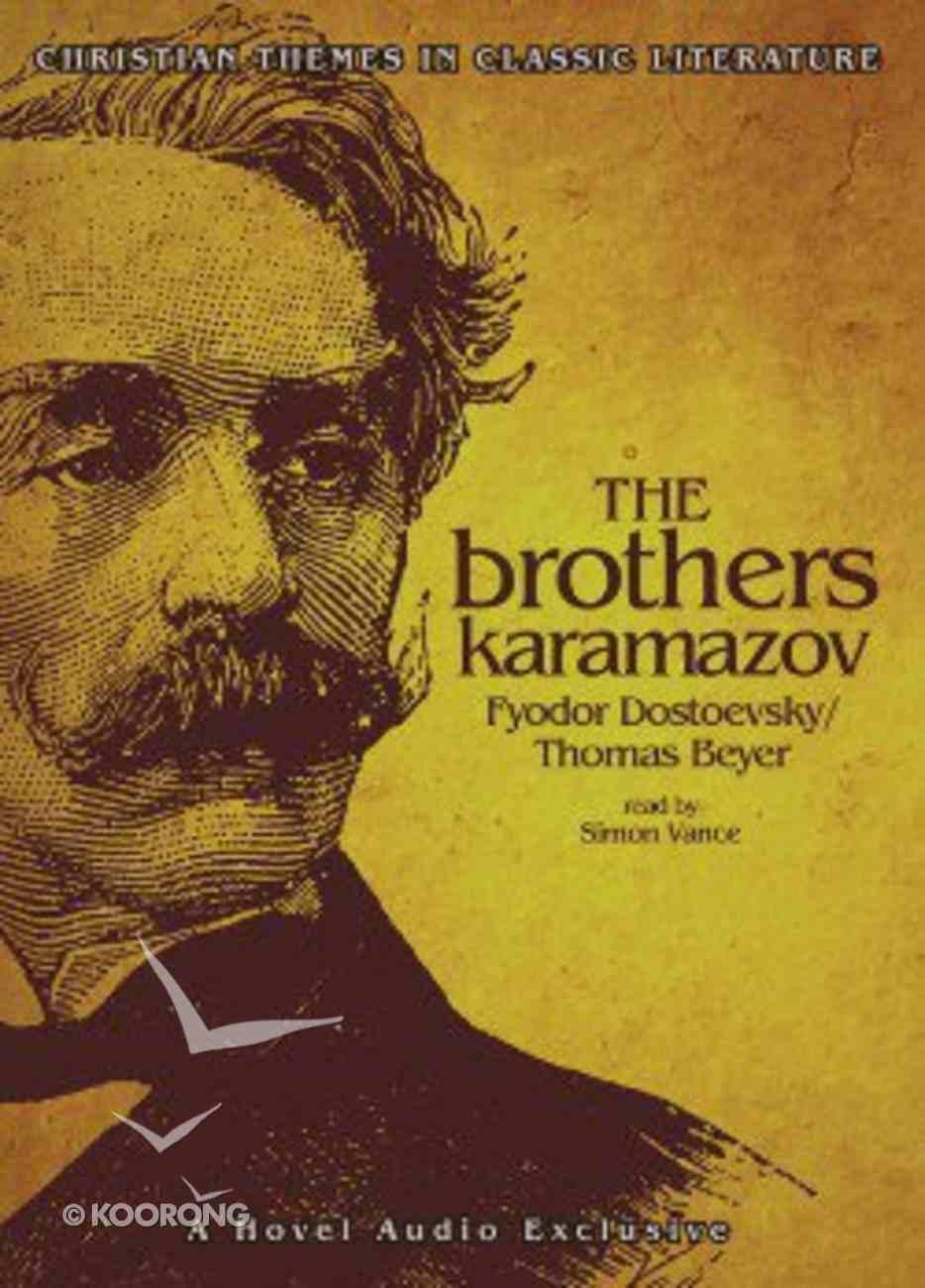 The Brothers Karamazov (Mp3) CD