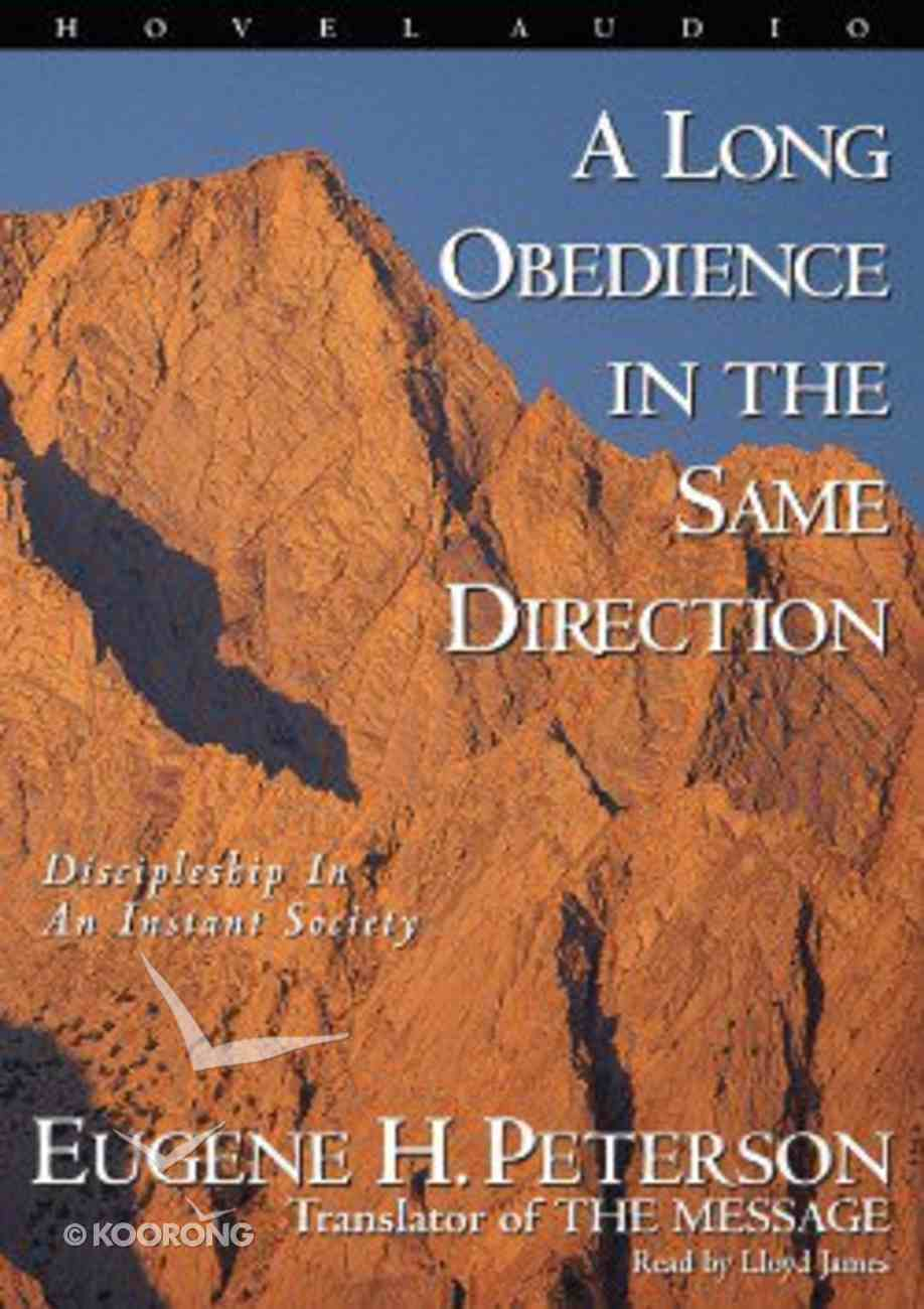 A Long Obedience in the Same Direction (Mp3) CD