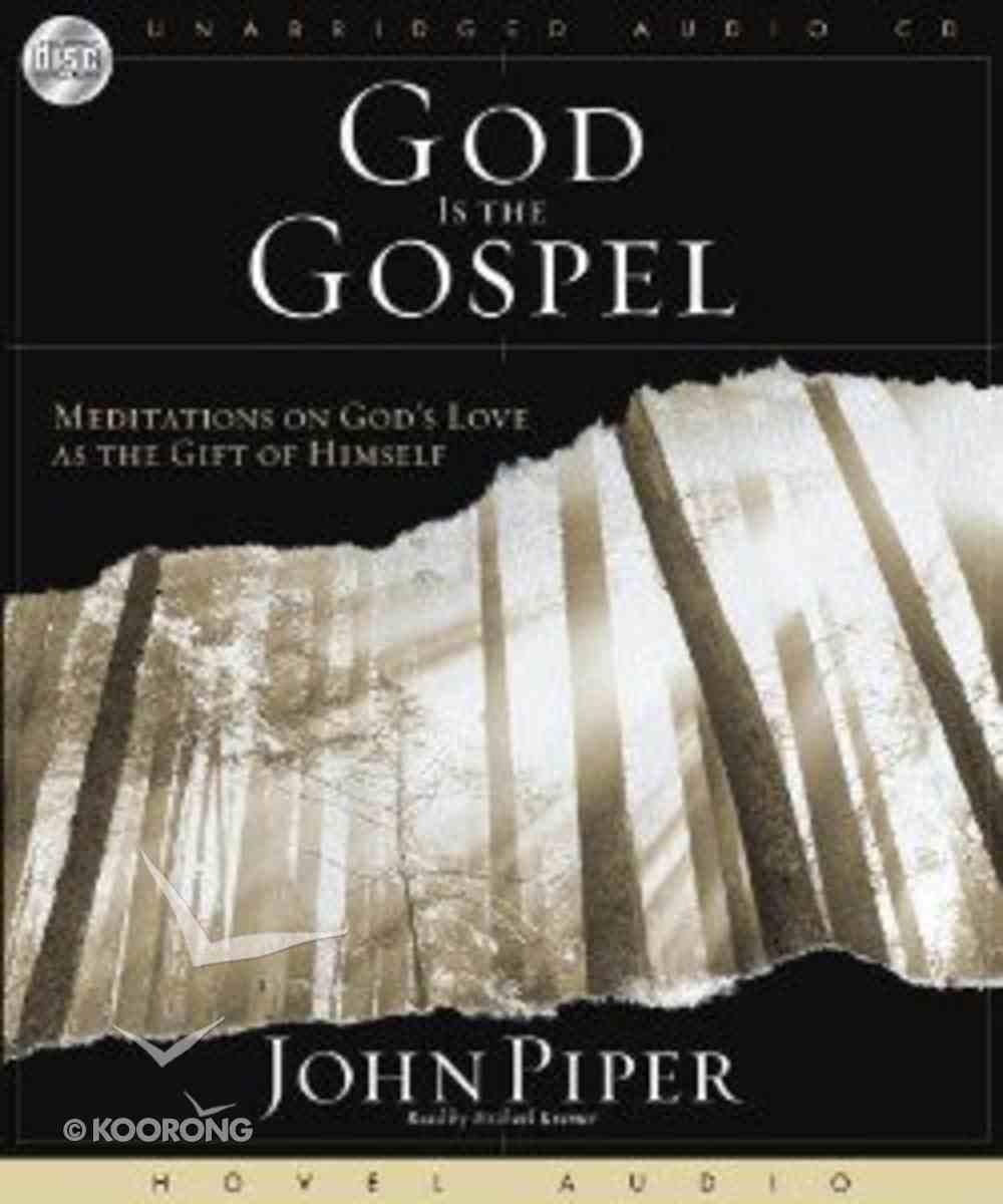 God is the Gospel CD