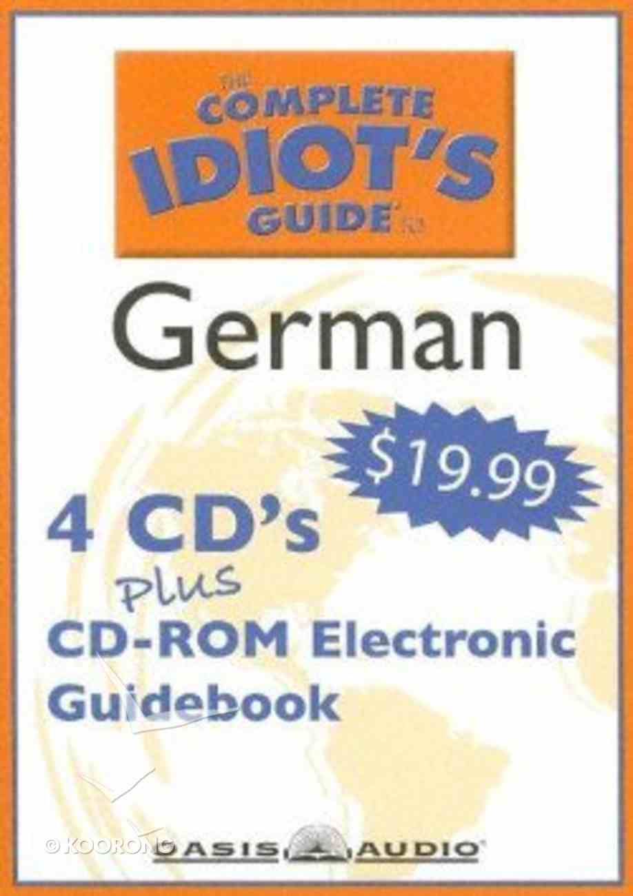 Complete Idiot's Guide to German 1 CD