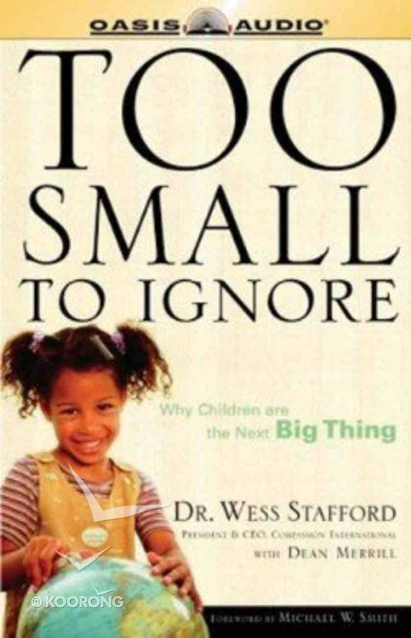 Too Small to Ignore CD