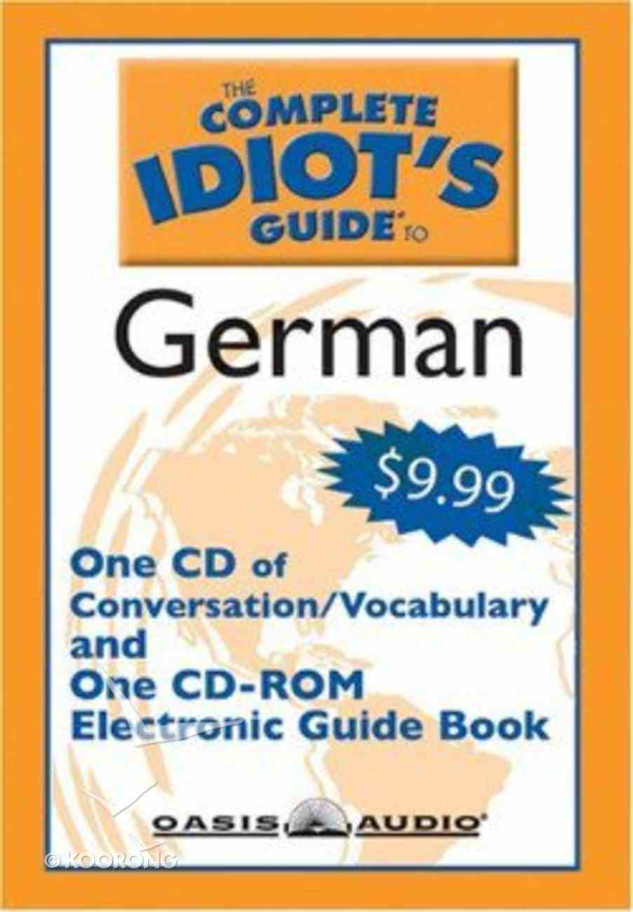 Complete Idiot's Guide to German - Level 1 CD