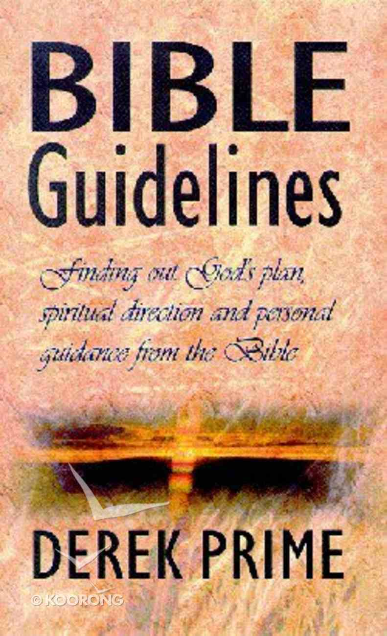 Bible Guidelines Paperback