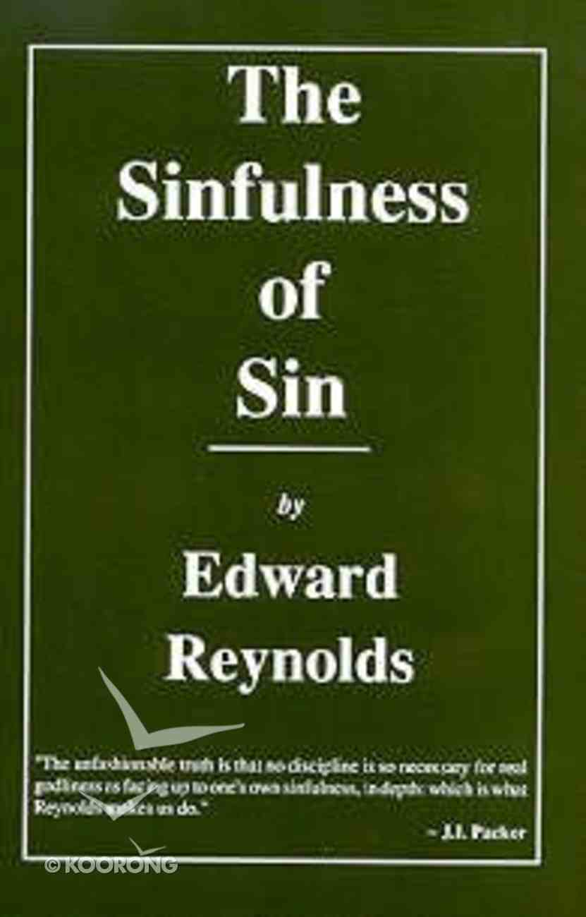Sinfulness of Sin (Vol 1) Hardback