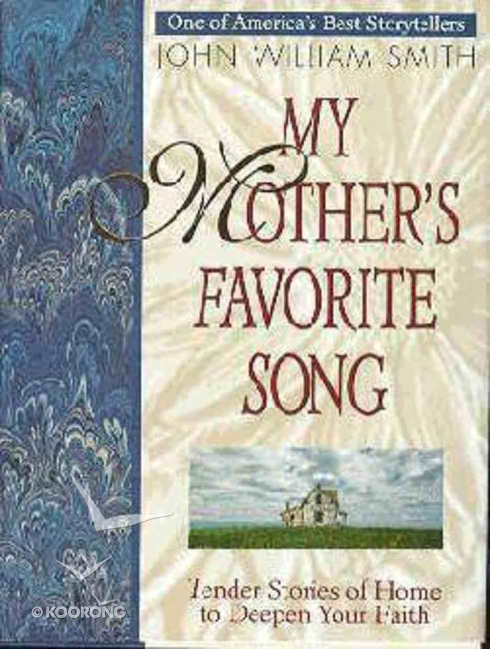 My Mother's Favorite Song Hardback