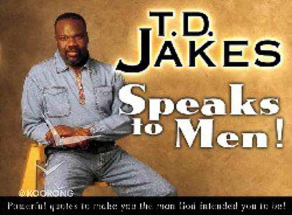 Jakes Speakes to Men Mass Market