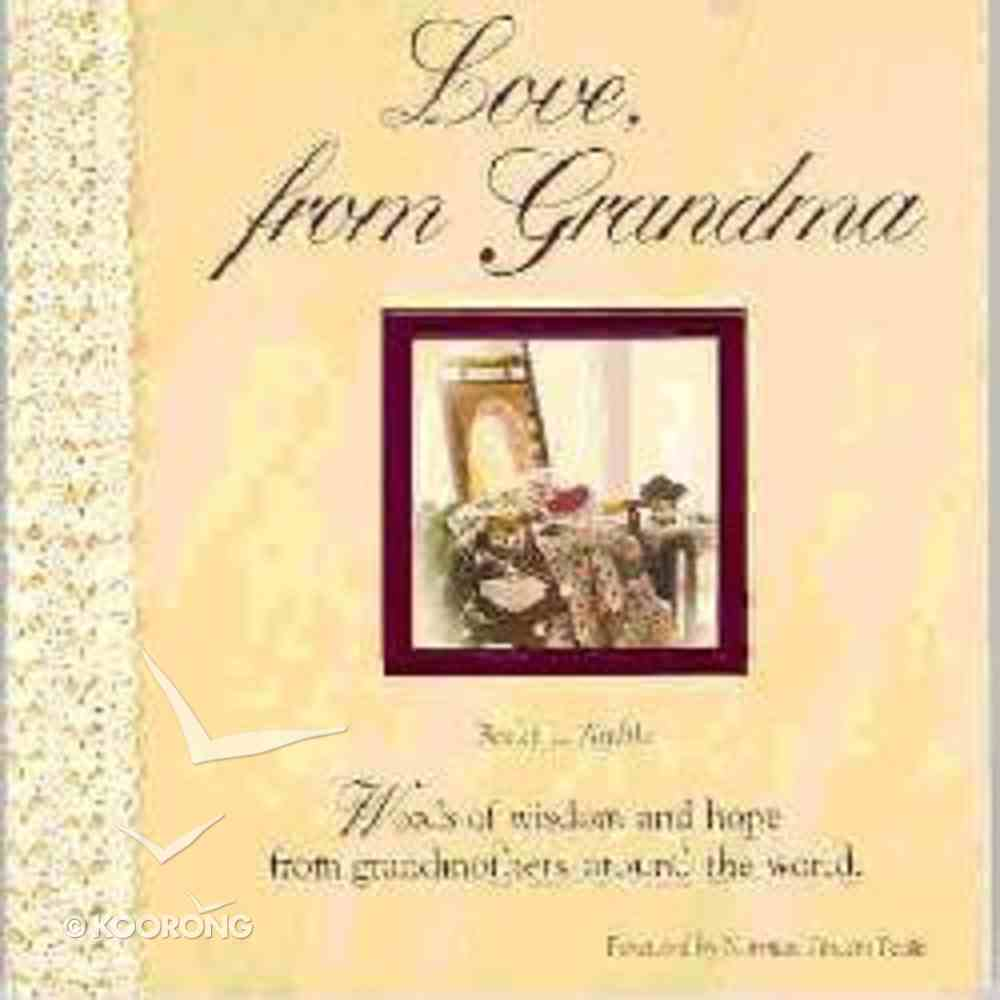 Love From Grandma Paperback