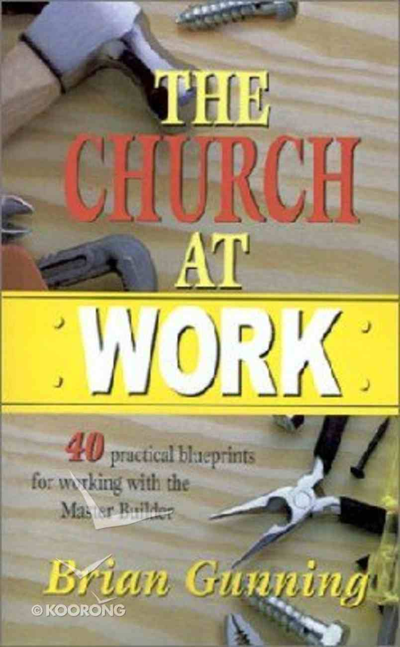 The Church At Work Paperback