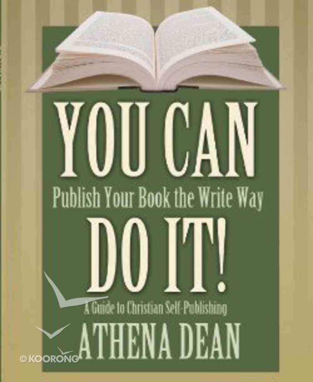 You Can Do It! Paperback