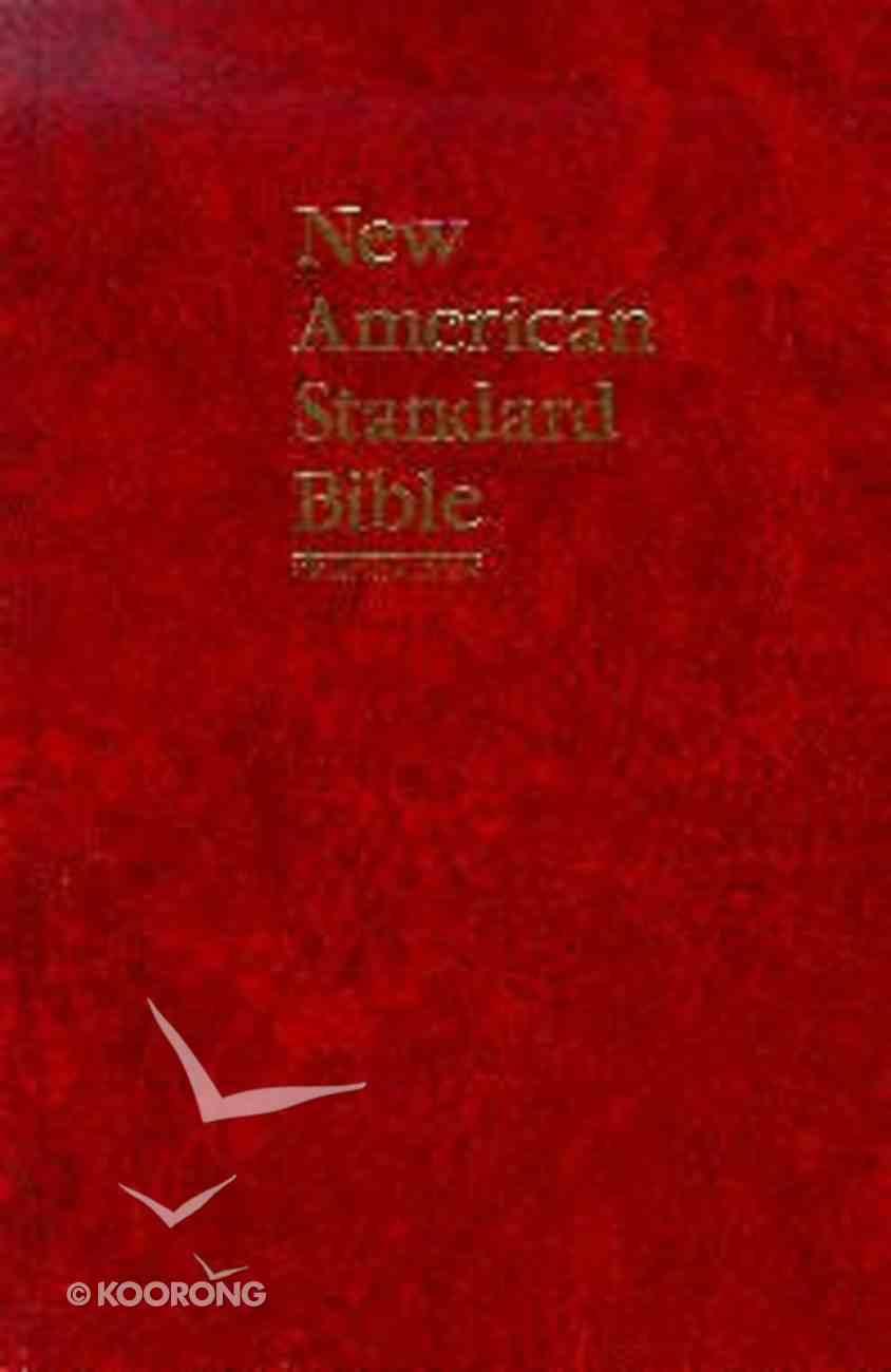 NASB Pew Text Edition Red Hardback
