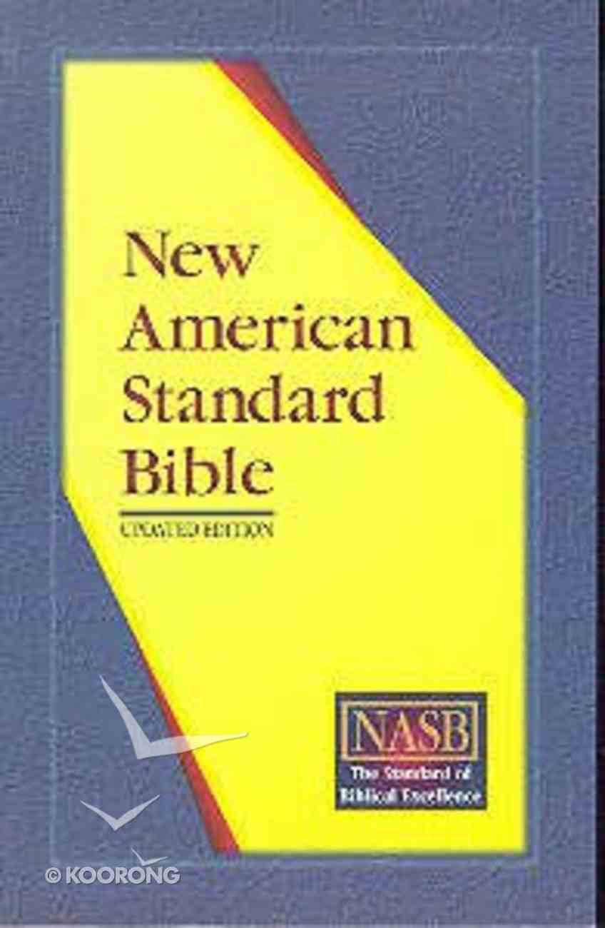 NASB Updated Edition Full Bible Economy Paperback