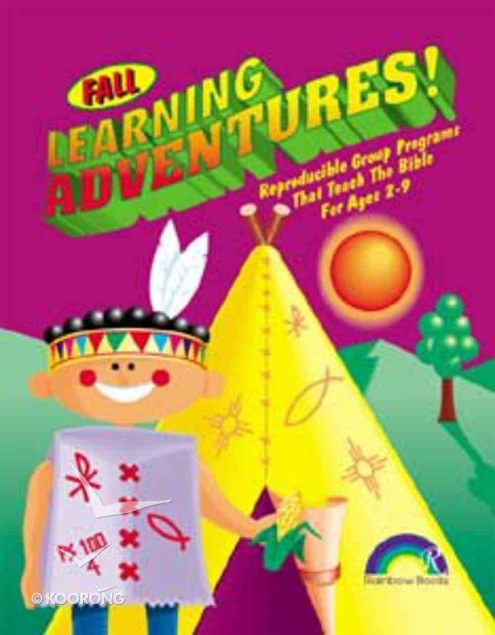 Learning Adventures: Fall Paperback