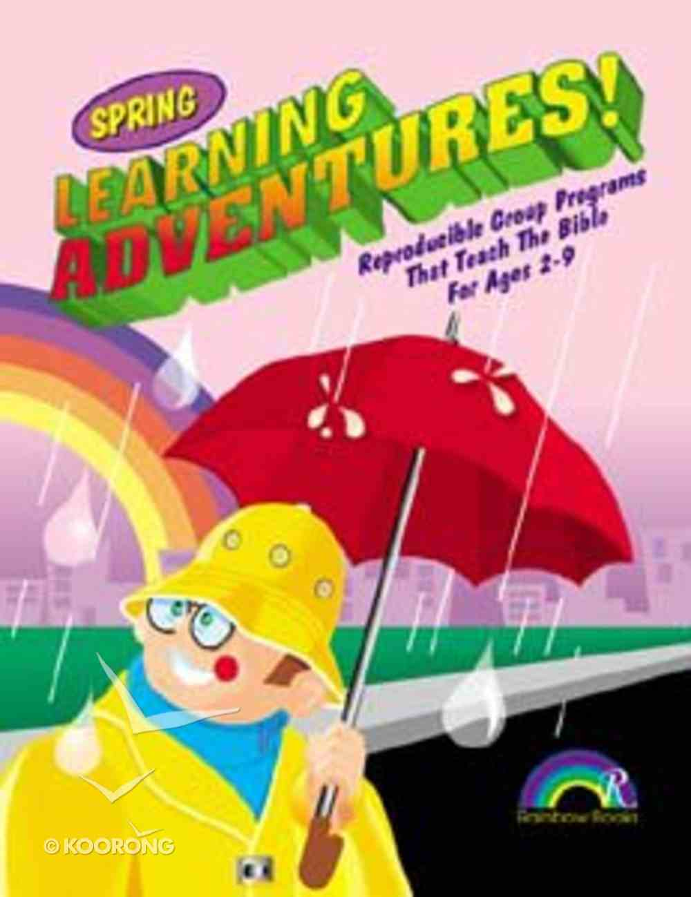 Learning Adventures: Spring Paperback