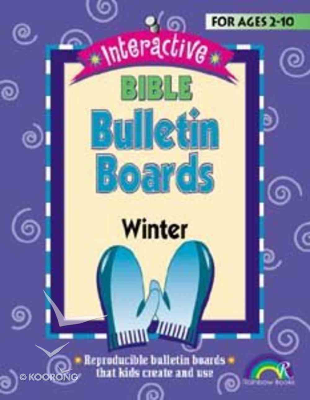 Interactive Bible Bulletin Boards: Winter Paperback