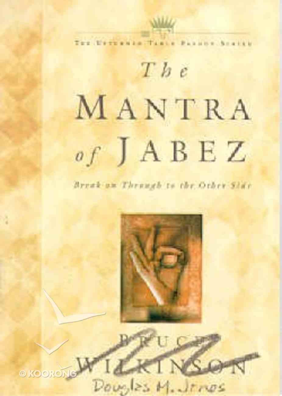 The Mantra of Jabez Paperback