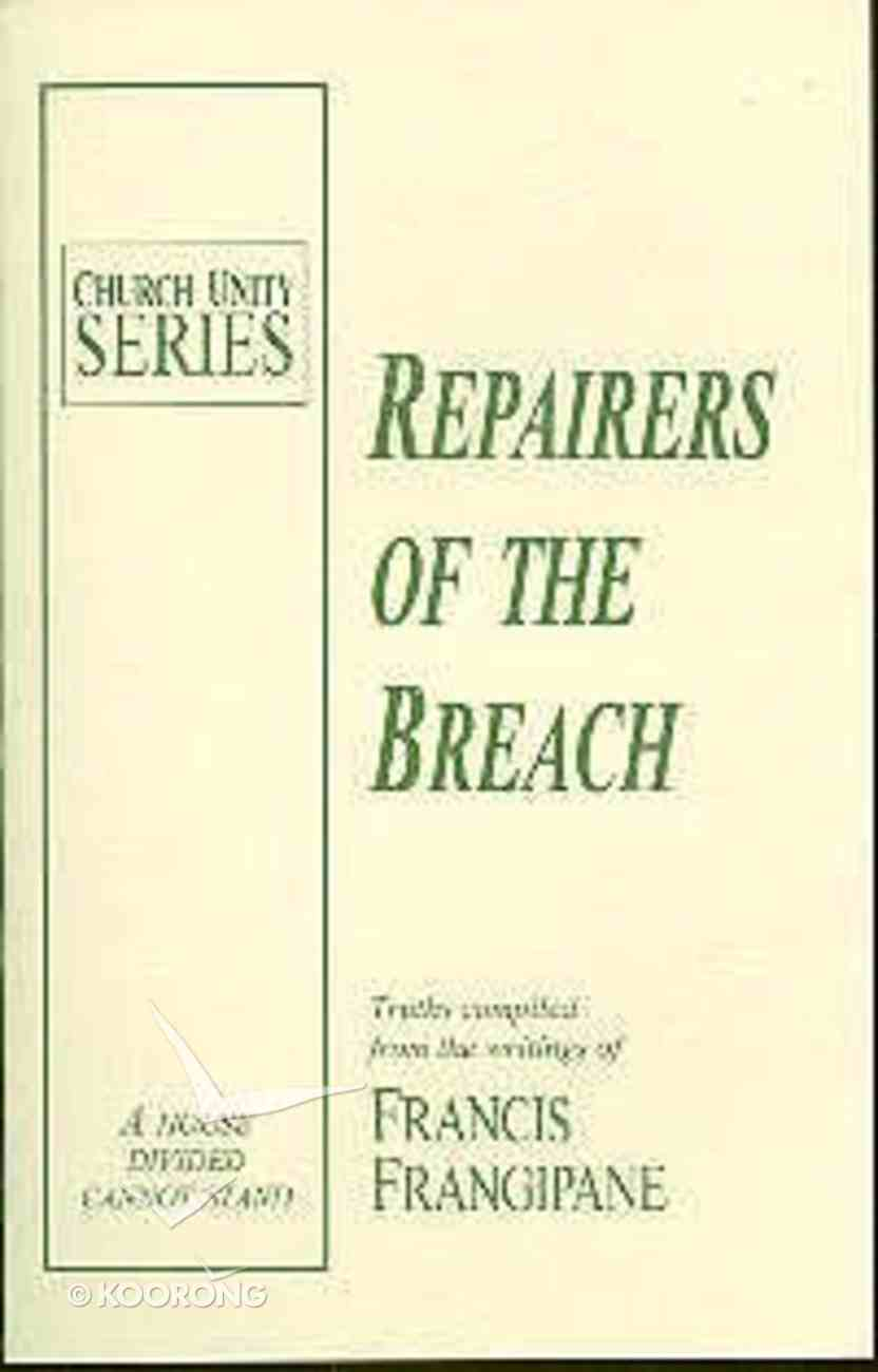 Repairers of the Breach Paperback