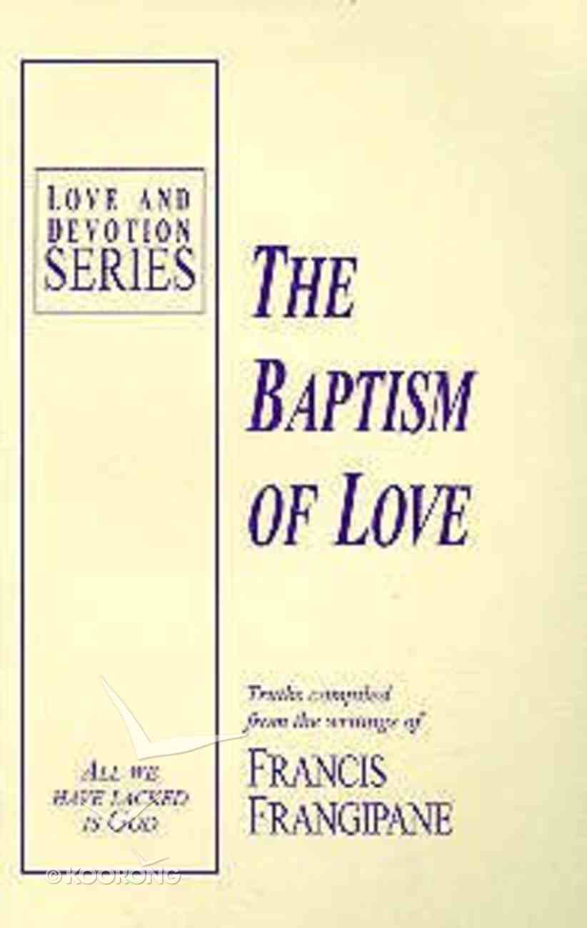 Baptism of Love Paperback