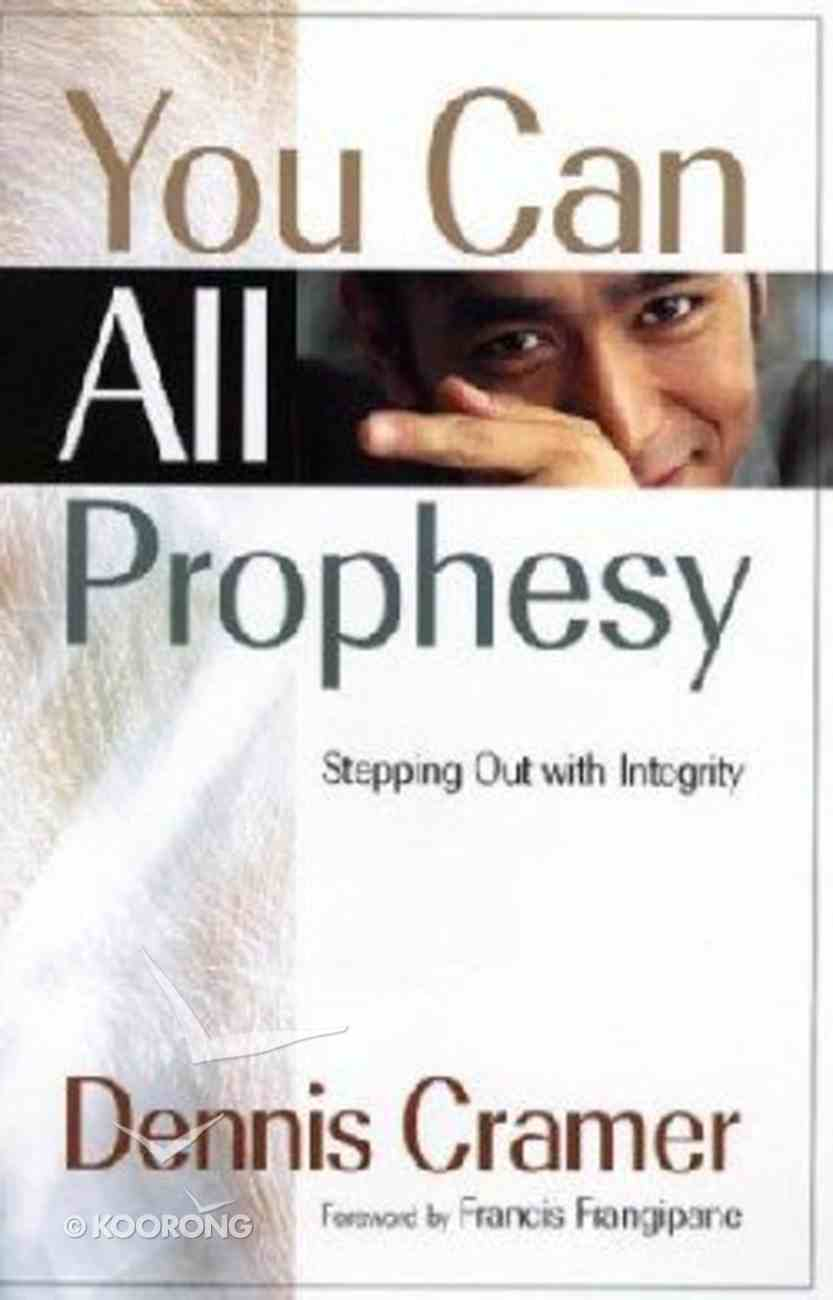 You Can All Prophesy Paperback