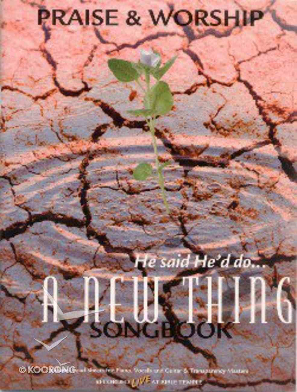 New Thing Paperback