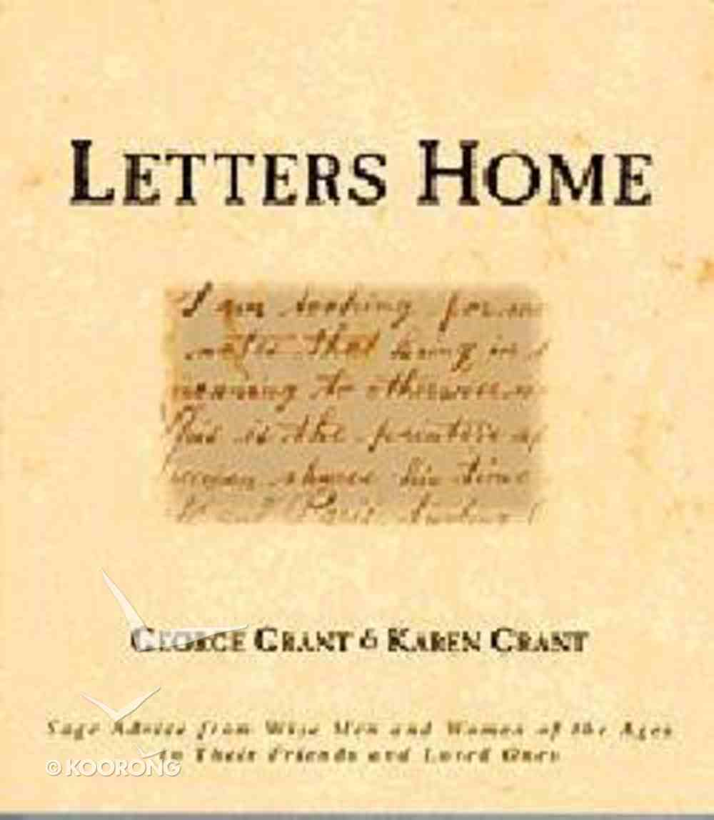 World View: Letters Home Paperback