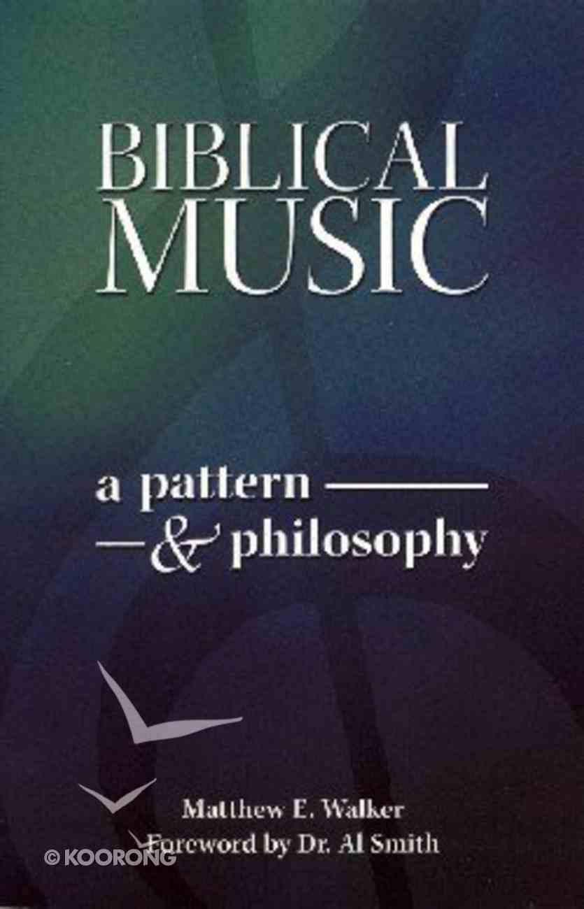 Biblical Music Paperback