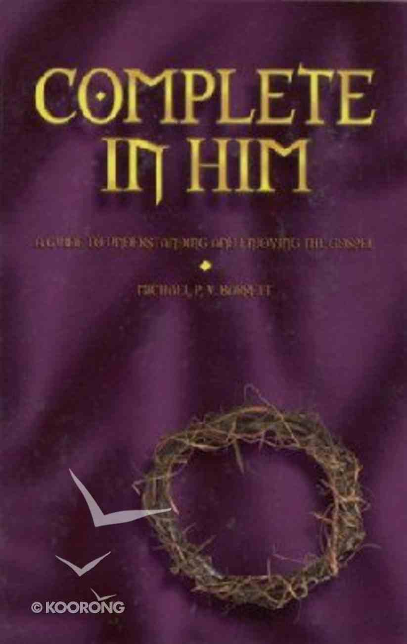 Complete in Him Paperback