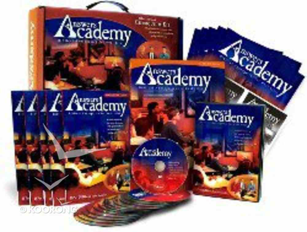 Answers Academy Curriculum Kit (Includes 13 Dvds) Box