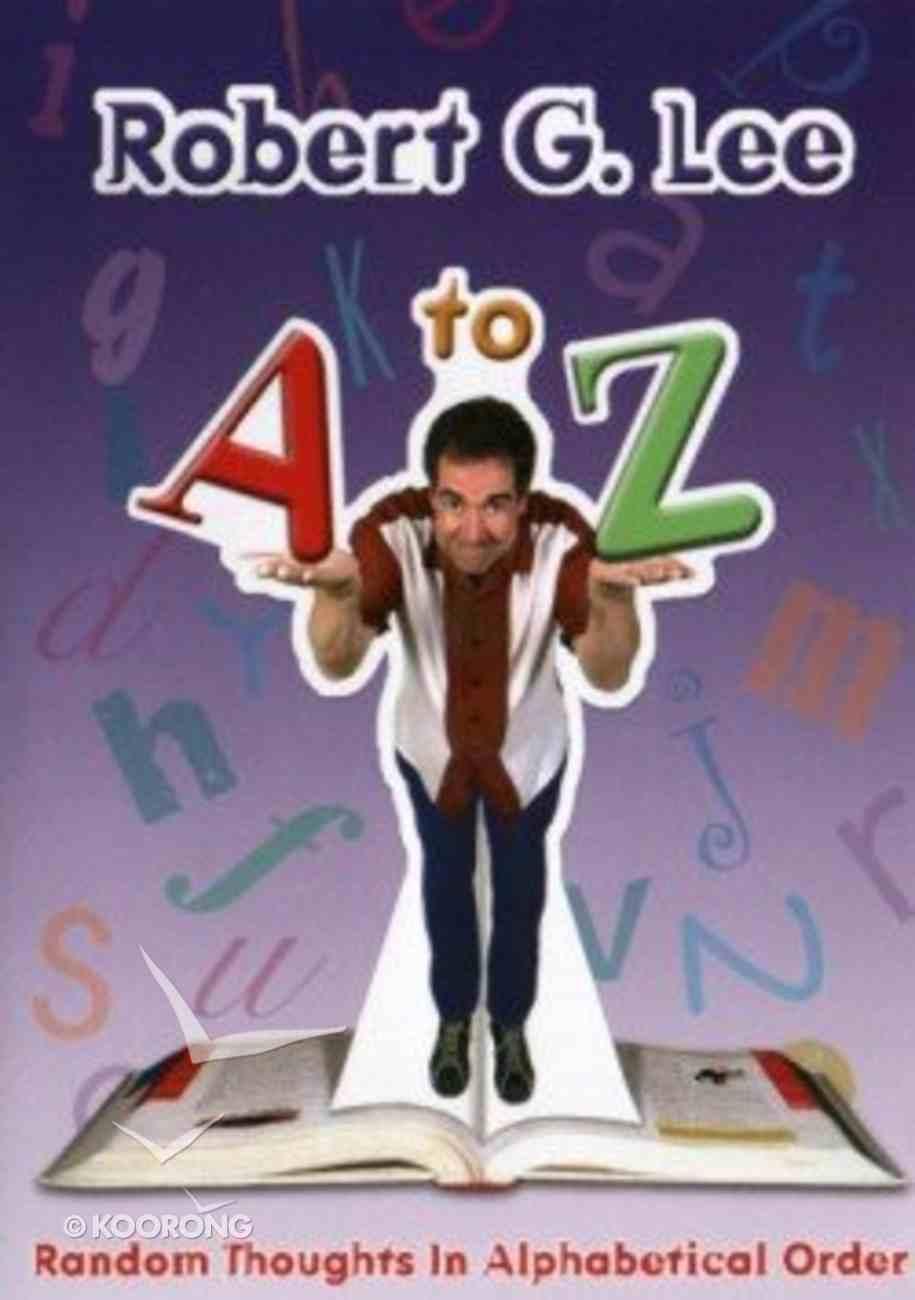 A to Z DVD