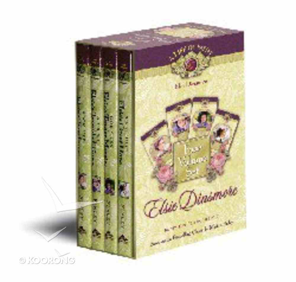 Lof Elsie Dinsmore (Boxed Set Books 5-8) (Life Of Faith: Elsie Dinsmore Series) Hardback